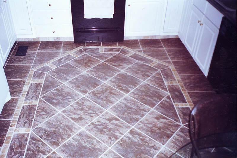 Create Magnificent Effects by Mixing and Matching Floor Tile